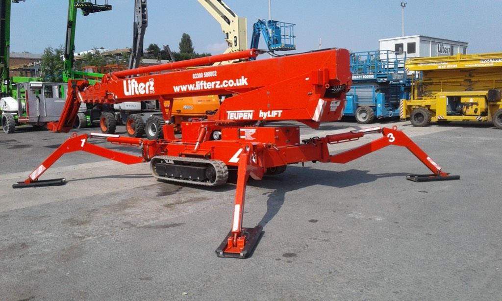 Teupen Leo 36T, Telescopic boom lifts, Construction
