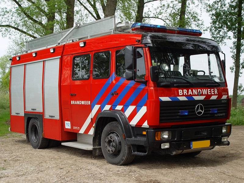 Mercedes Benz 1124 Daan Touw Godiva, Fire trucks, Transportation