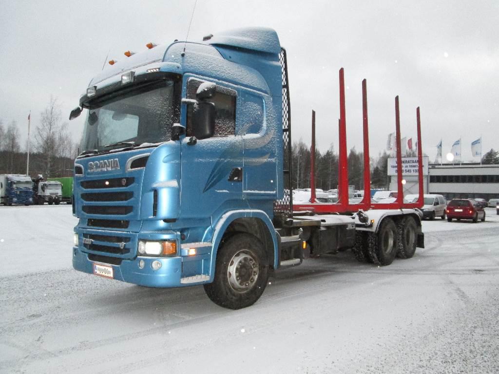 Scania R620 6X4 HNA, Puuautot, Kuljetuskalusto