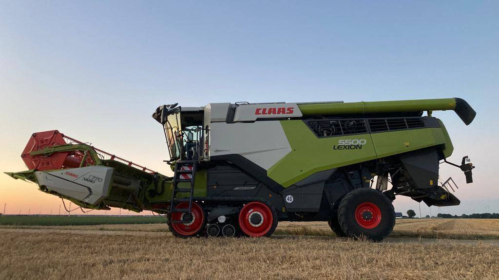 CLAAS LEXION 5500 TERRA TRAC, Combines, Agriculture