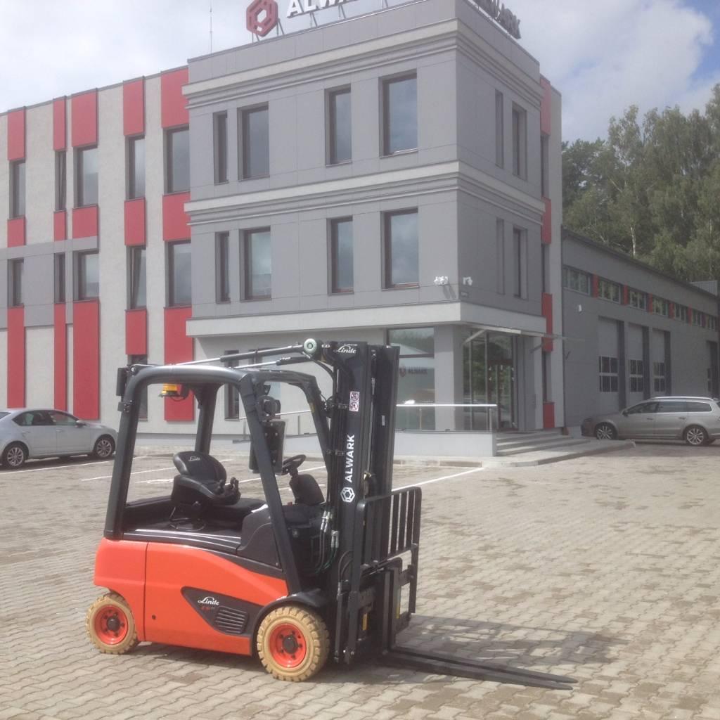 Linde E16P, Electric forklift trucks, Material Handling