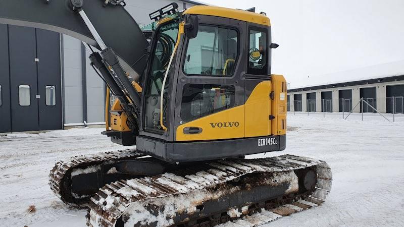 Volvo ECR145CL, Crawler Excavators, Construction Equipment