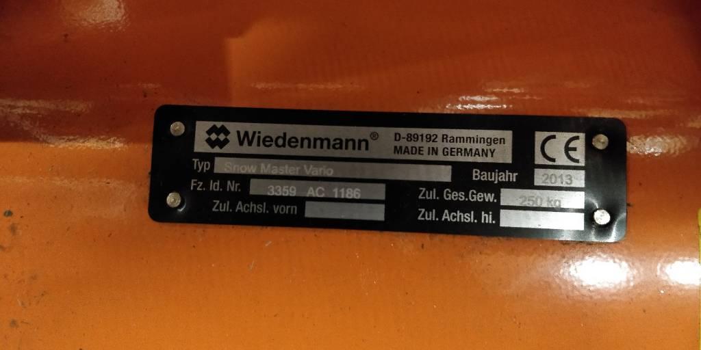 Wiedenmann Snow Master Vario 1,51m, Taajamatraktorien varusteet, Ympäristökoneet