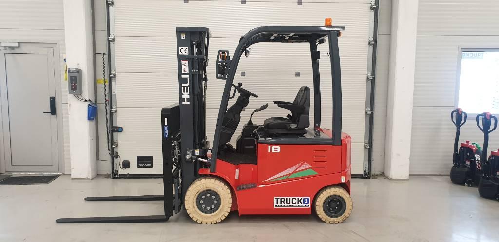 Heli CPD18-GD2 - 1,75 t el. truck - 4,7 m LH (PÅ LAGER), Elektriske trucker, Truck