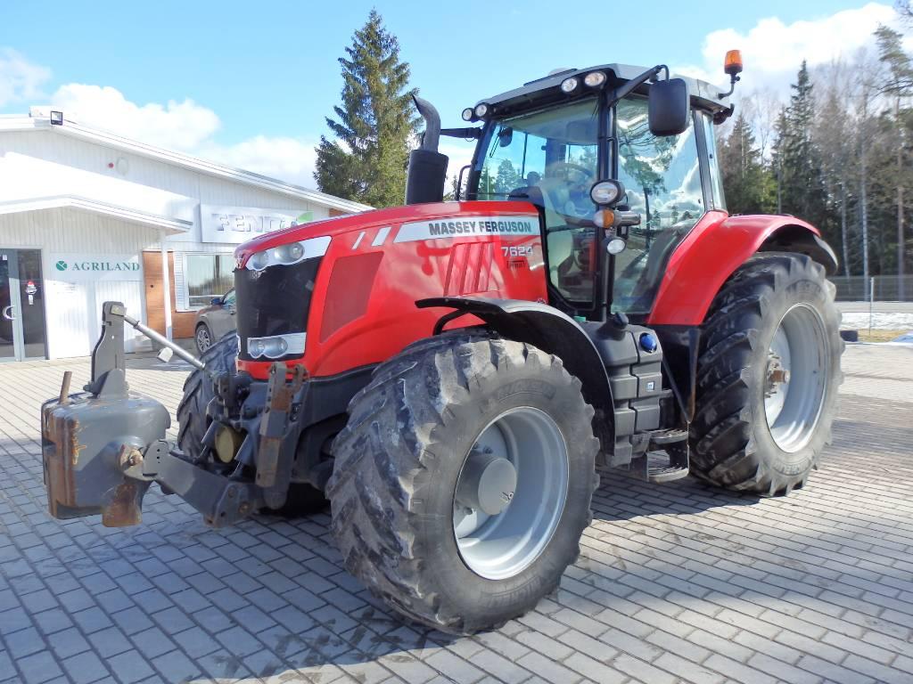 Massey Ferguson 7624, Traktorid, Põllumajandus