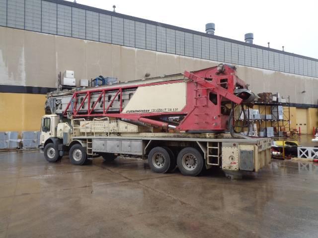 Putzmeister TB 130-18, Boom Pumps, Construction Equipment