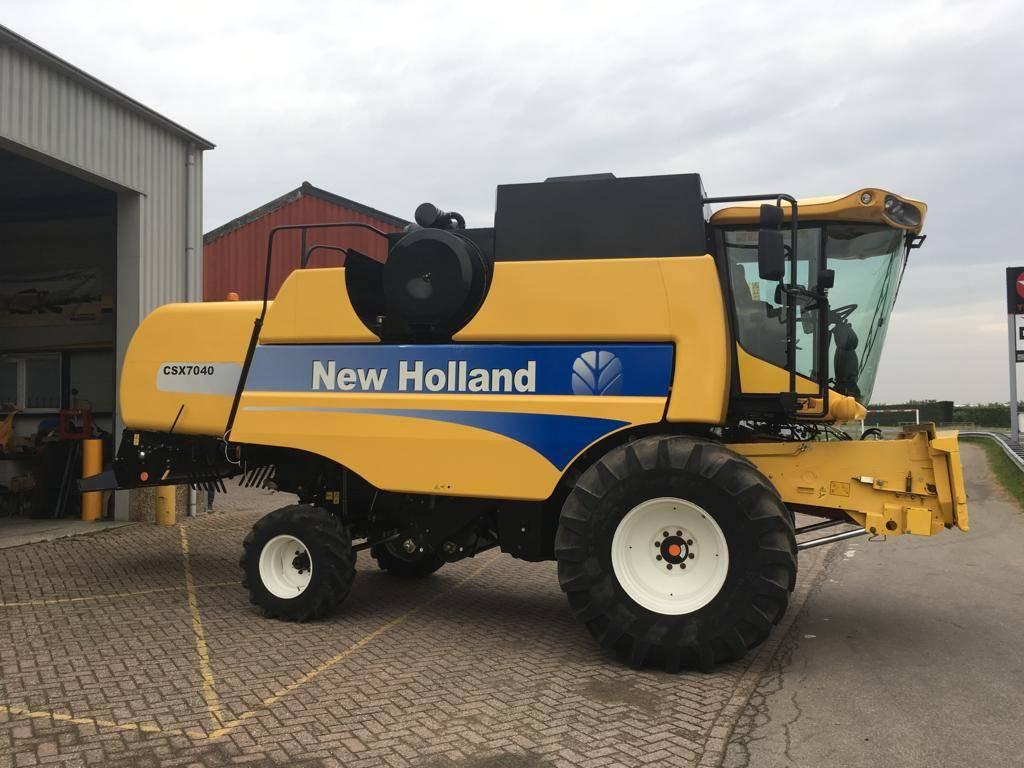 New Holland CSX7040, Maaidorsmachines, All Used Machines