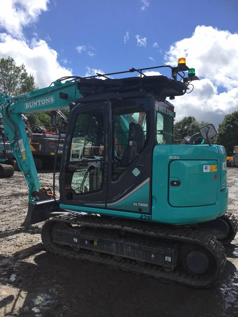 Kobelco SK 75 SR-3E, Crawler excavators, Construction
