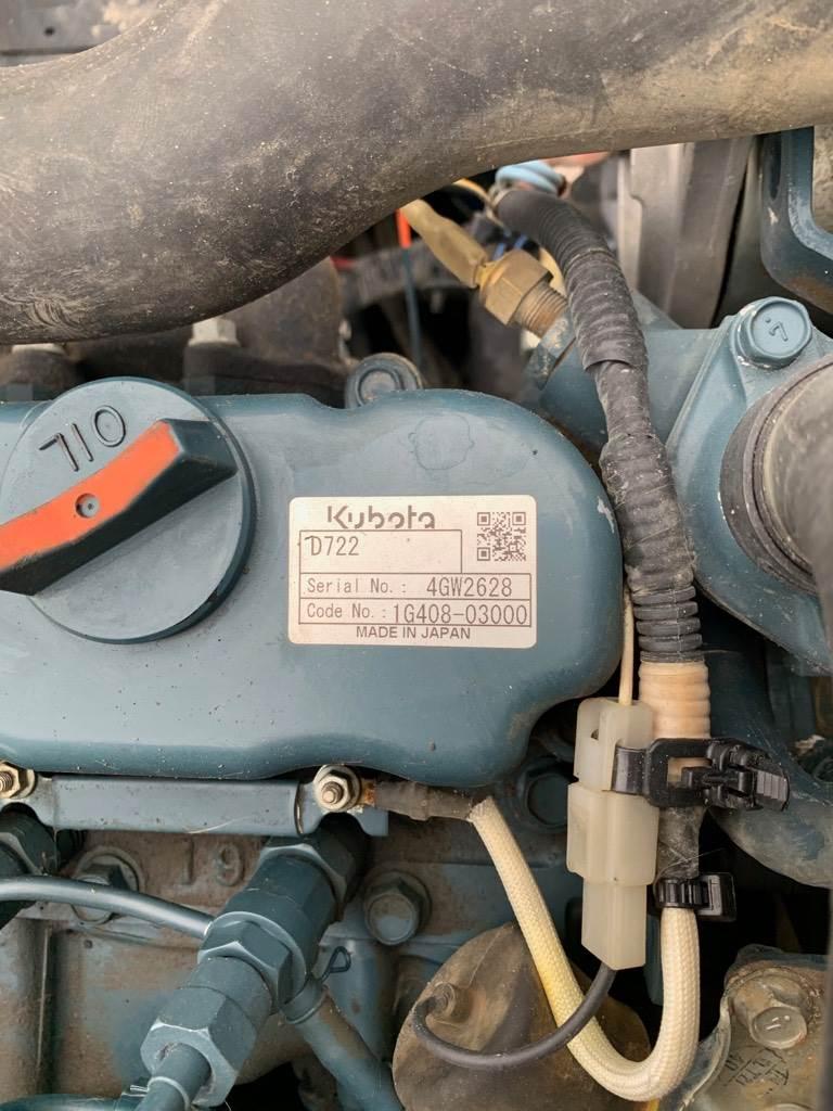 Kubota U 10-3, Minigraafmachines < 7t, Bouw