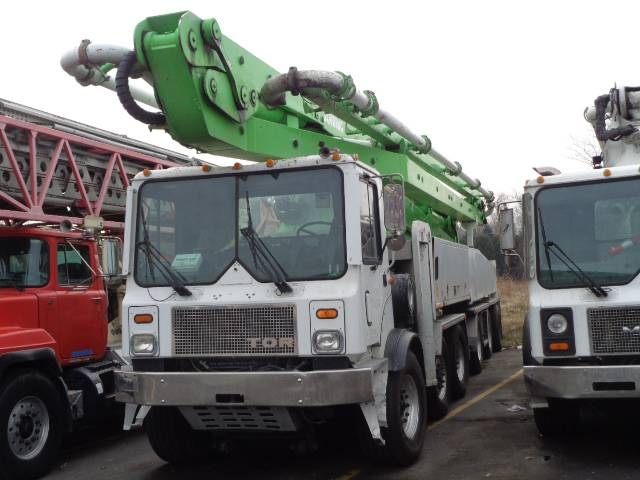 Schwing 2525-6/S58SX, Boom Pumps, Construction Equipment