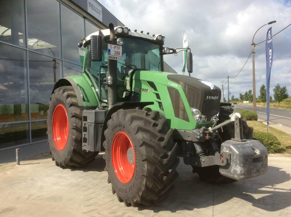 Fendt 822 Vario SCR, Tractoren, Landbouw