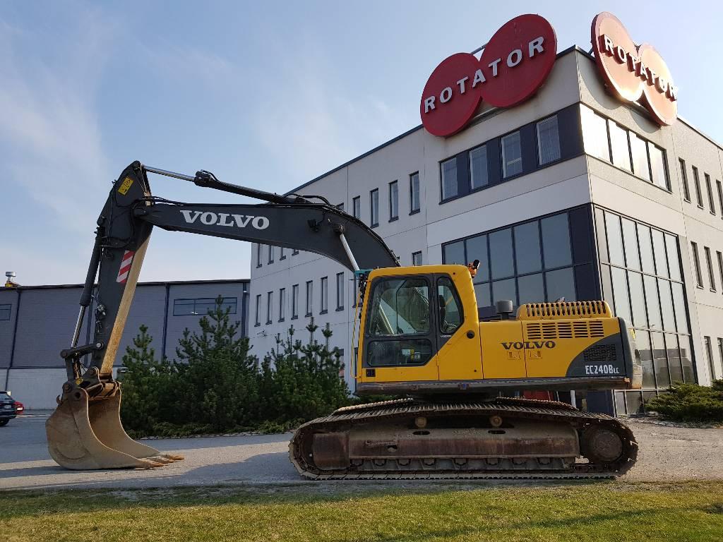 Volvo EC240BLC, Bandgrävare, Entreprenad