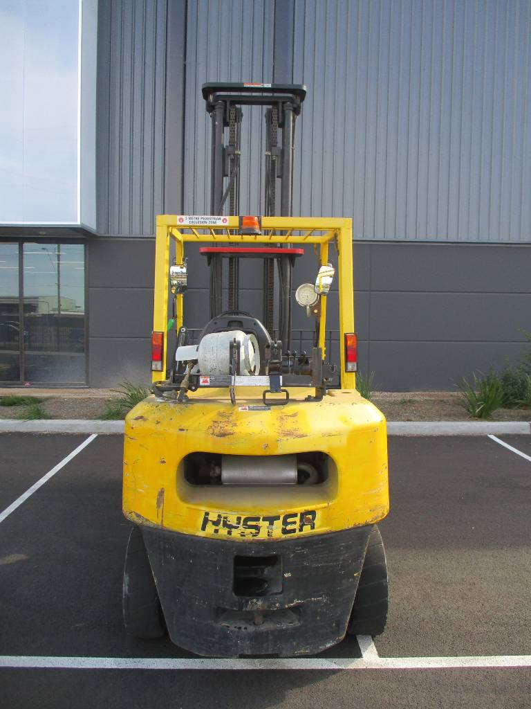 Hyster H4.50DX, LPG counterbalance Forklifts, Material Handling