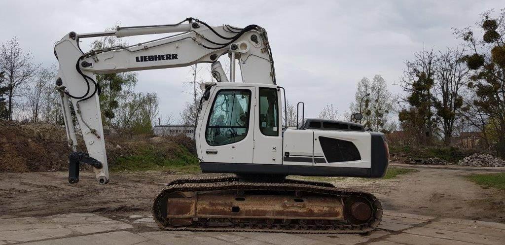 Liebherr R926 LC, Raupenbagger, Baumaschinen