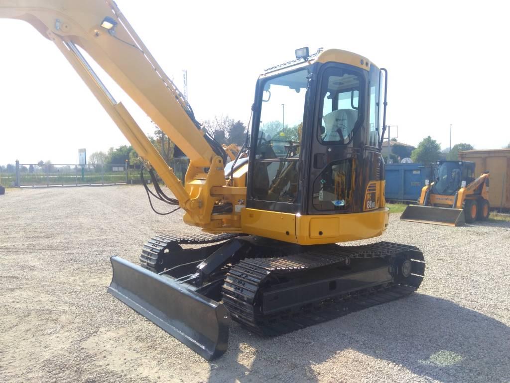 Komatsu PC88MR-6, Midi excavators, Construction Equipment