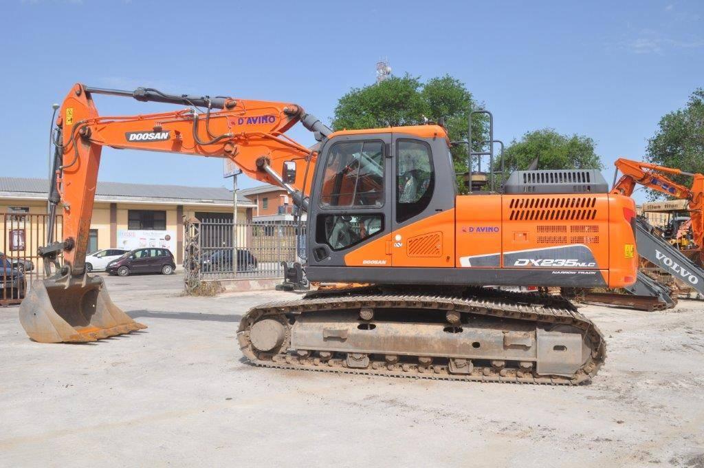 Doosan DX 235 NLC, Crawler Excavators, Construction Equipment