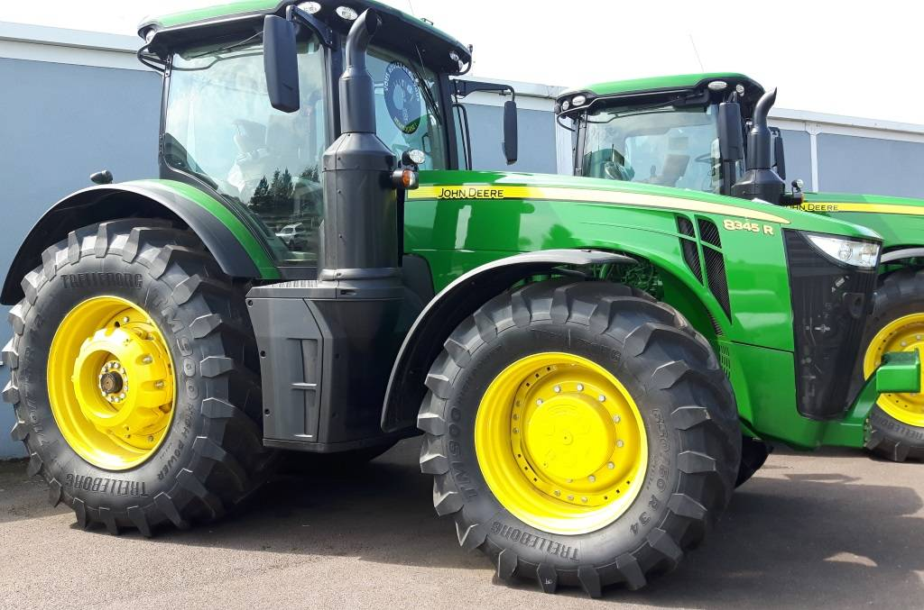 John Deere 8345R Powershift, Tracteur, Agricole