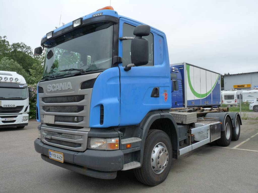 Scania G 480 6x4, Koukkulava kuorma-autot, Kuljetuskalusto