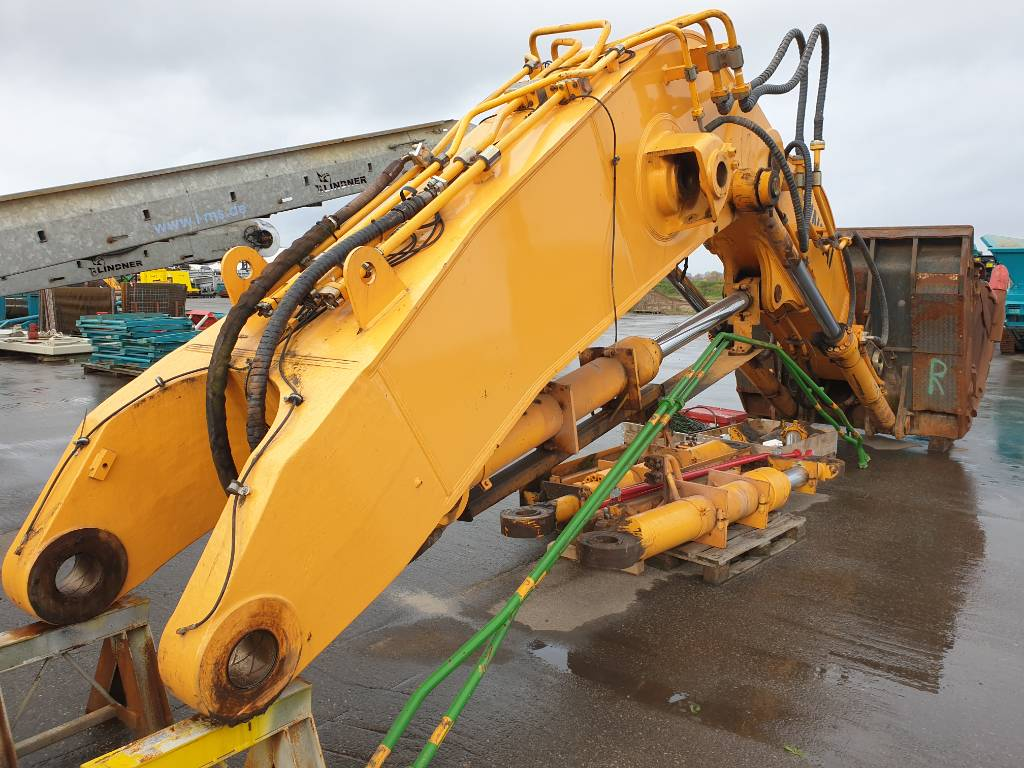 Hyundai Robex 800-7A, front shovel boom, stick, bucket, Backhoes, Construction