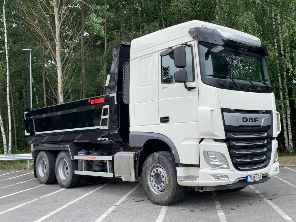 DAF XF 530 FAT Zetterbergs, Dump Trucks, Trucks and Trailers