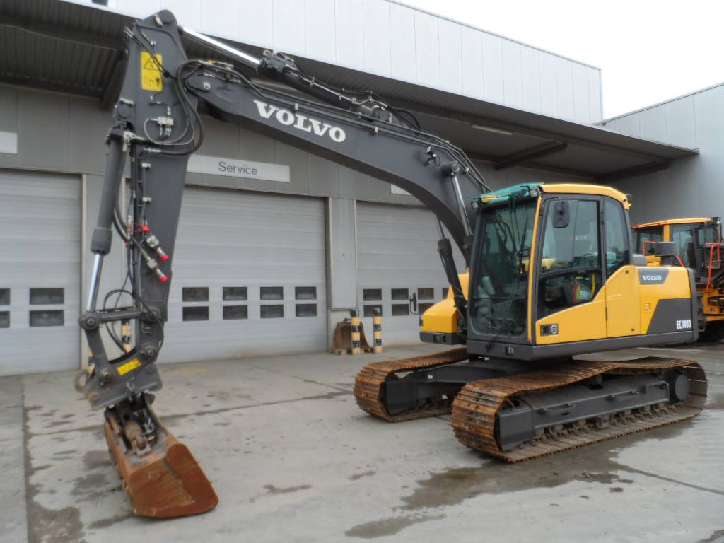 Volvo EC 140 DL, Crawler Excavators, Construction Equipment