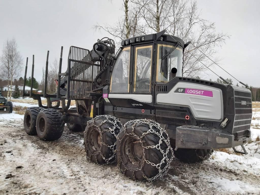 Logset 6F GT, Kuormatraktorit, Metsäkoneet