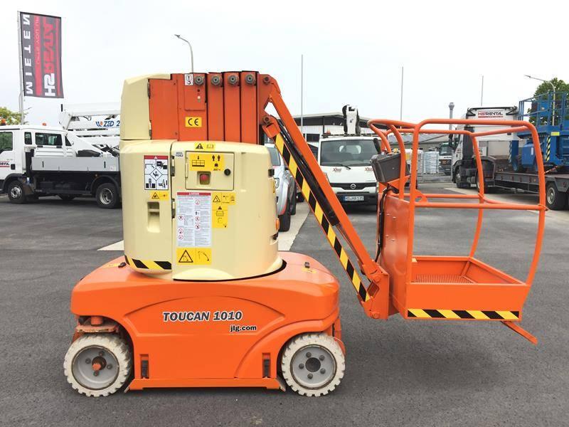 JLG Toucan 1010 elektro 10m (1082), Gelenkarbeitsbühne, Baumaschinen