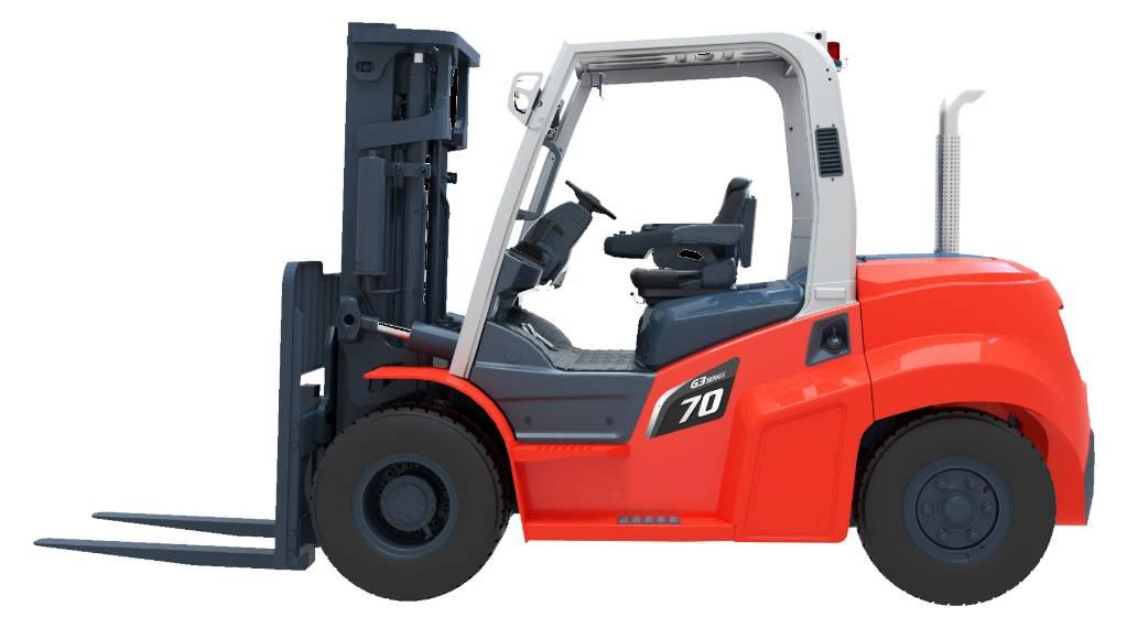 Heli CPCD 70, Dieseltrukit, Materiaalinkäsittely