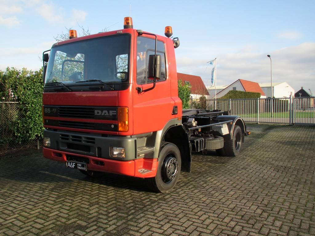 DAF 65-210 ATI Haakarm   4x4, Vrachtwagen met containersysteem, Transport