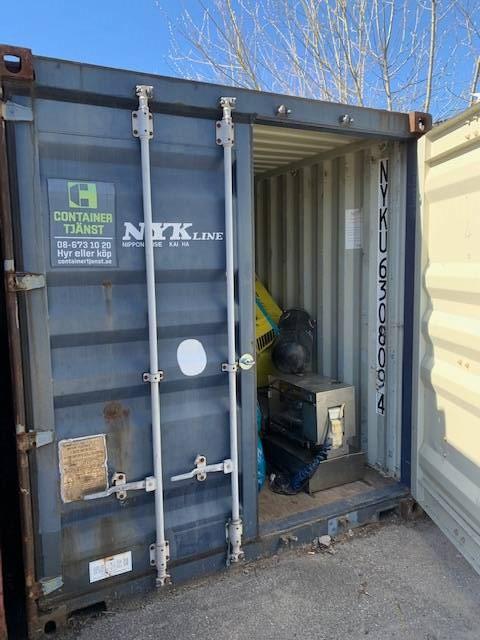 Container 40 fot, Sjöcontainers, Transportfordon