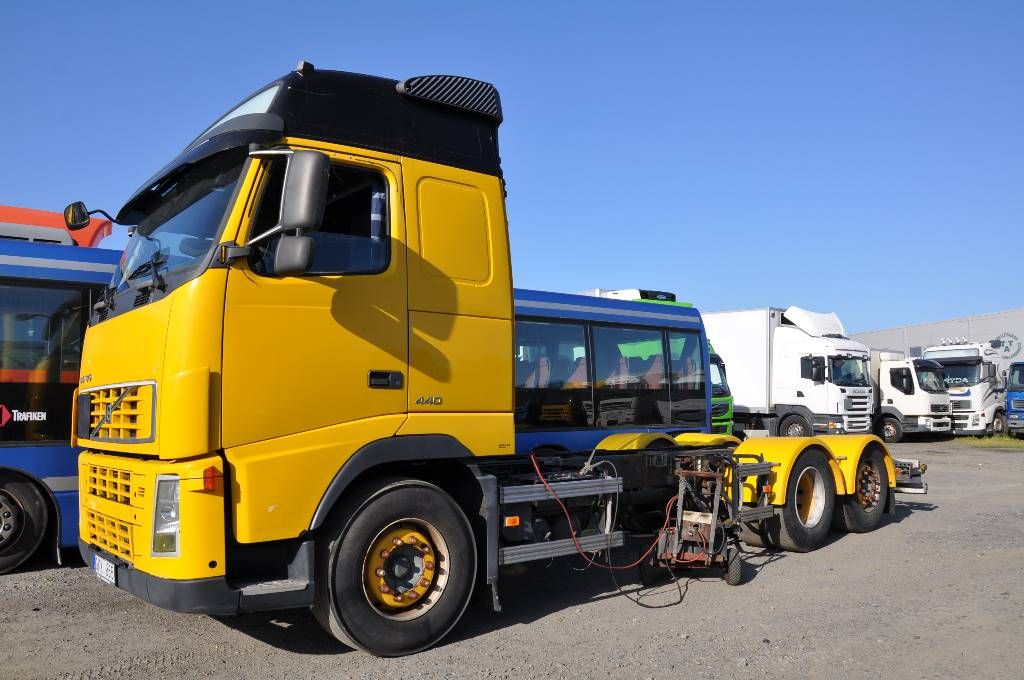 Volvo Fh440 6X2, Chassier, Transportfordon