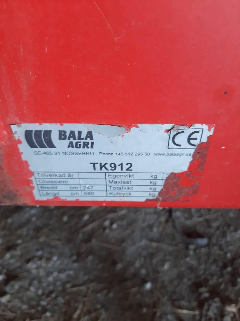 Bala TK912, Spannmålsvagnar, Lantbruk