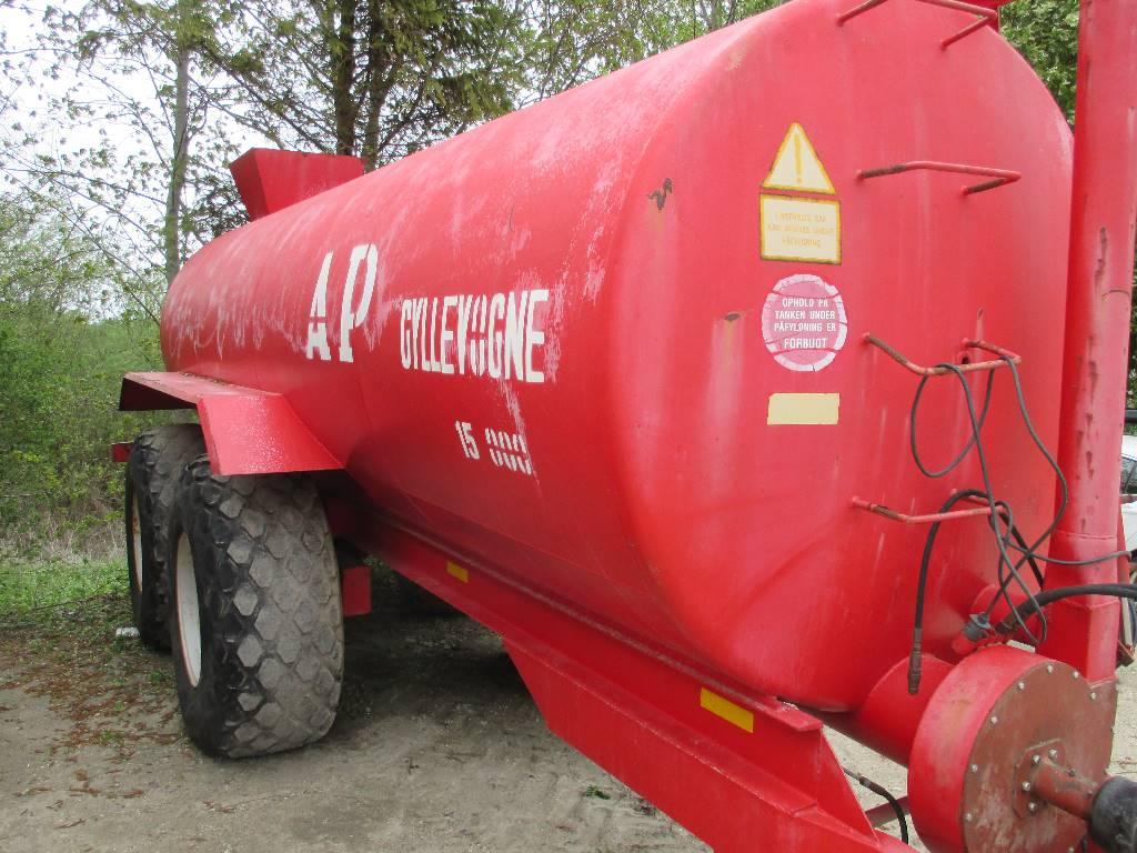 AP Gyllevognen 15000 Ltr., Gyllevogne/Slamsugere, Landbrug