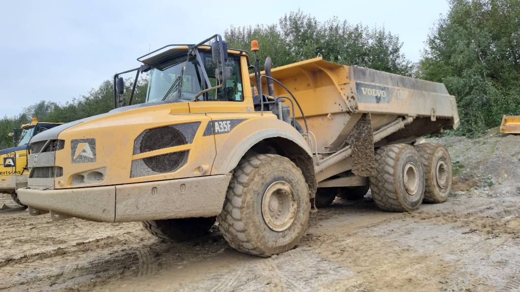 Volvo A 35 F (7 pieces), Articulated Dump Trucks (ADTs), Construction