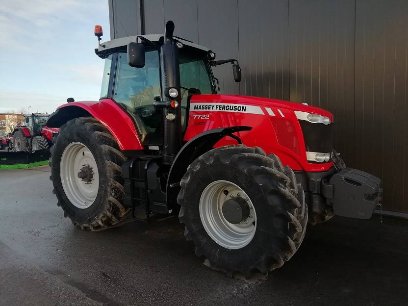 Massey Ferguson 7722 Dyna-6, Traktori, Lauksaimniecības tehnika