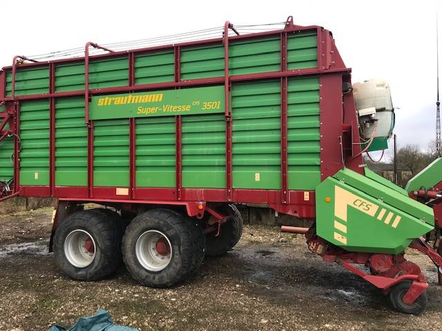 Strautmann Super Vitesse CFS 3501, Laadurhaagised, Põllumajandus