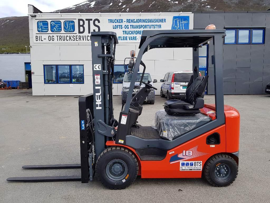 Heli CPCD18 (H3) - 1,75 t diesel - 4,7 m LH (PÅ LAGER), Diesel Trucker, Truck