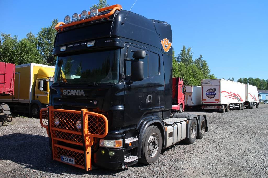 Scania R 620, Vetopöytäautot, Kuljetuskalusto