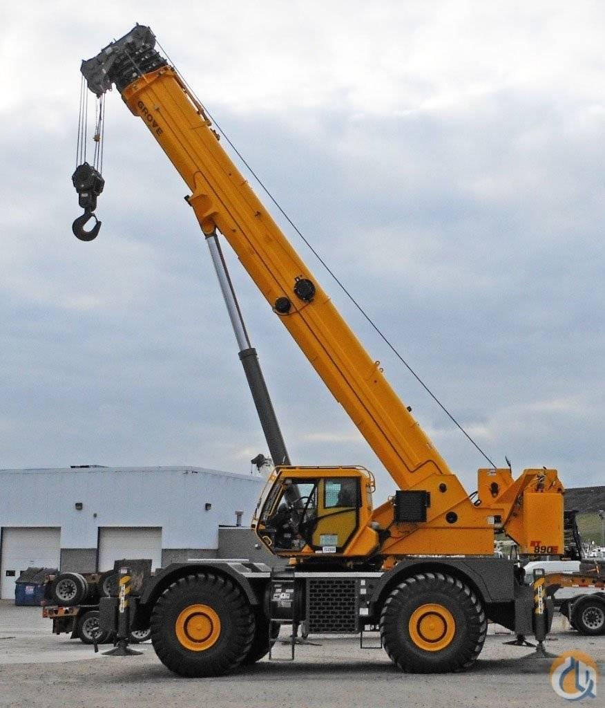 Grove RT 890 E, Crane Parts and Equipment, Construction Equipment