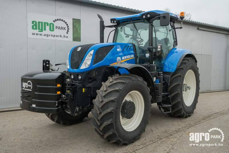 New Holland T7.245 (934 hours), 29 12 Powershift, 50 km h