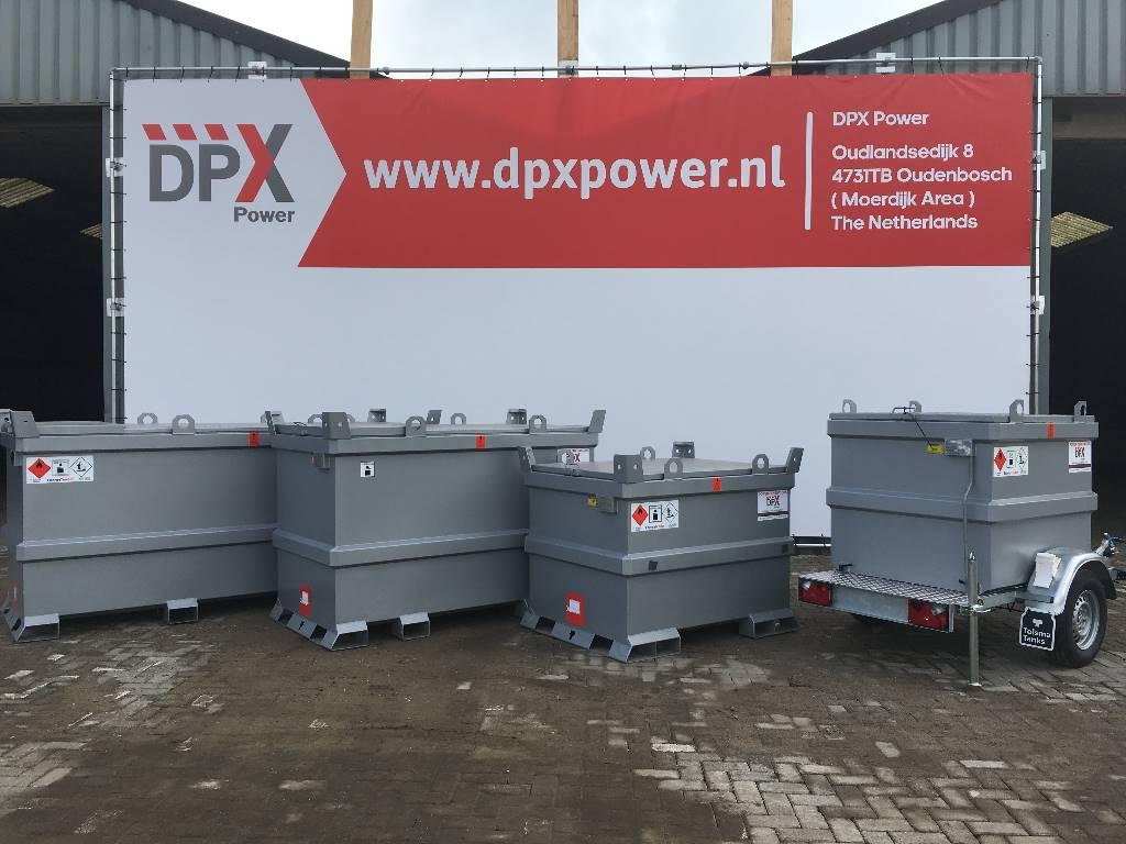 [Other] New Diesel Fuel Tank 300 Liter - DPX-31018, Anders, Bouw