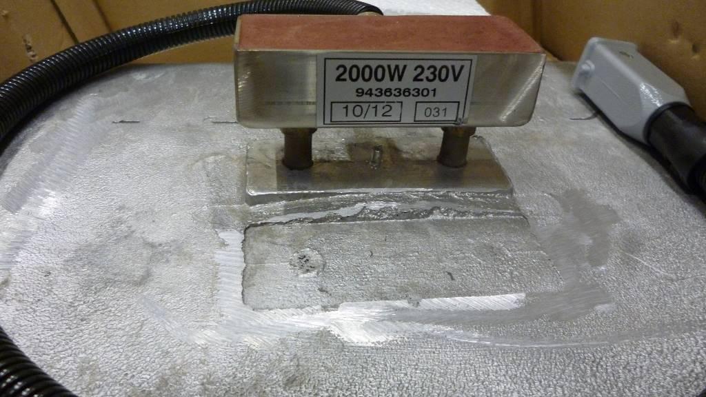 BOMAG Heating plate BF600C2,BF700C,BF700C2,BF800C,BF900C, Andere Zubehörteile, Baumaschinen