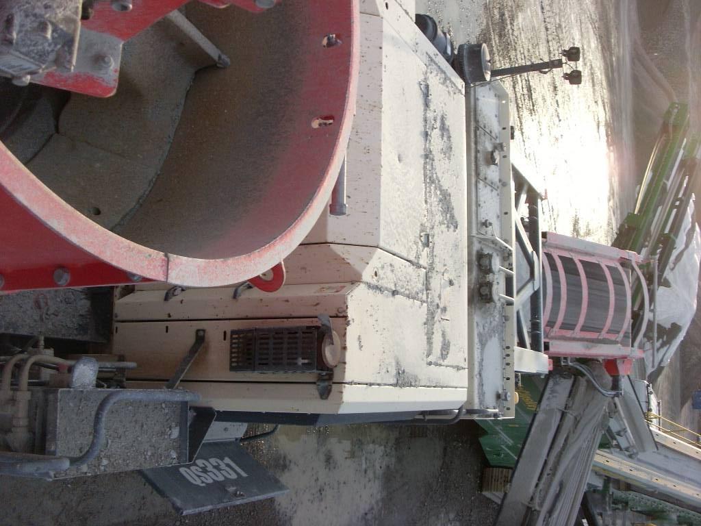 Sandvik QS 331, Mobila krossar, Entreprenad