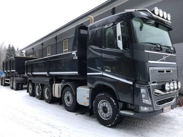 Volvo Fh16 750 10x4 Sora Ja Kippiautot Kuljetuskalusto