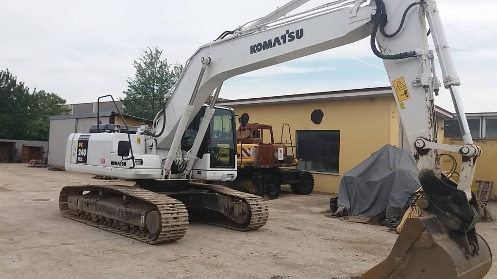 Komatsu PC240LC-7K, Crawler Excavators, Construction Equipment