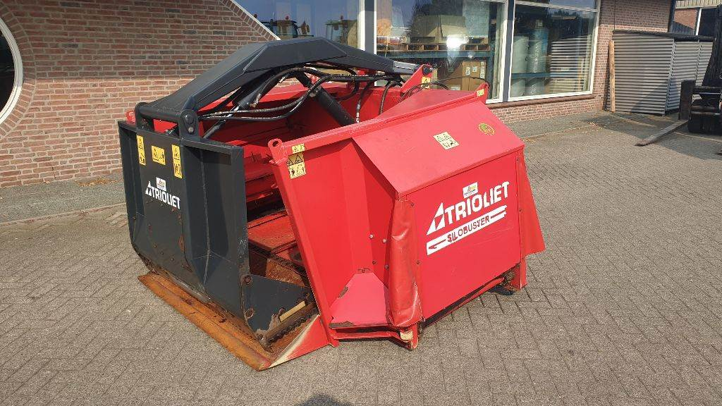 Trioliet Silobuster, Animal Feeders, Agriculture