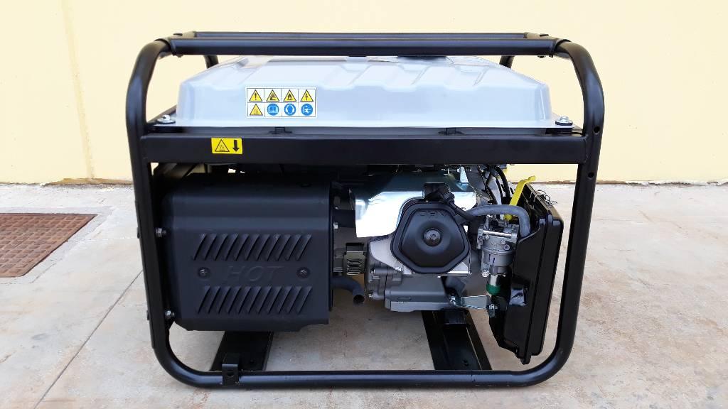Wacker Neuson MG7-CE, Generatori a benzina, Costruzioni