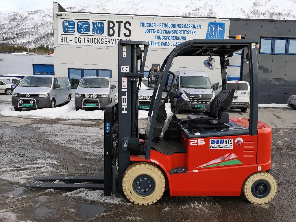 Heli CPD25-GD2 (G) - 2,5 tonns el. truck (PÅ LAGER), Elektriske trucker, Truck