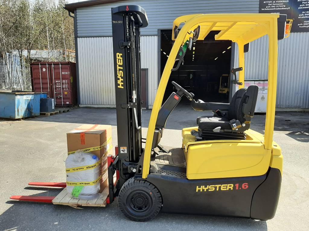 Hyster J1.6XNT, Sähkötrukit, Materiaalinkäsittely
