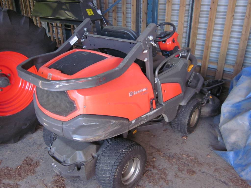 Husqvarna P 520 D, Riding mowers, Groundcare